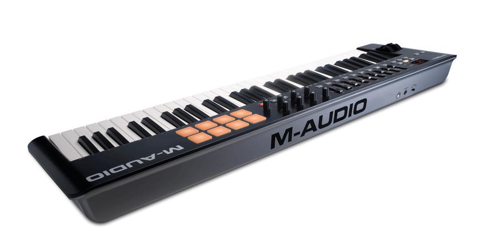 m audio oxygen61 mk4 teclado conexiones