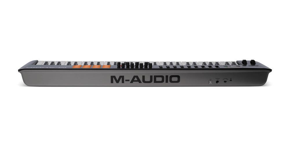 m audio oxygen61 mk4 teclado controlador midi