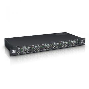 "LD SYSTEMS HPA 6 Amplificador de Auriculares 6 Canales 19"""