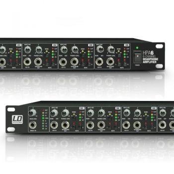 LD SYSTEMS HPA 6 Amplificador de Auriculares 6 Canales 19
