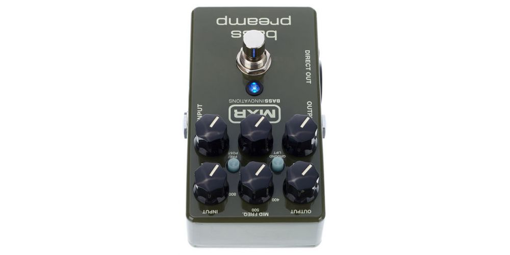 dunlop mxr m81 bass preamp back