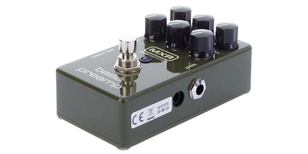 dunlop mxr m81 bass preamp dc