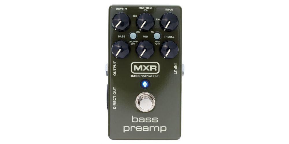 dunlop mxr m81 bass preamp front