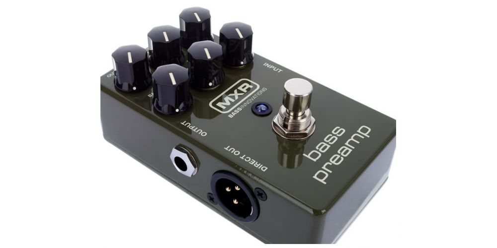 dunlop mxr m81 bass preamp push