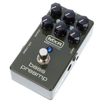 MXR M81 Pedal Bass Preamp. Preamplificador de Bajo