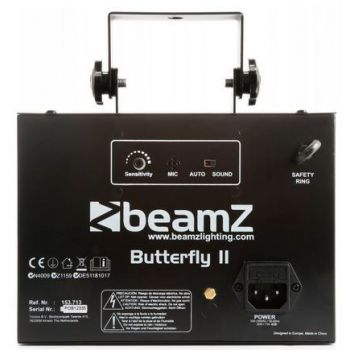 Beamz Butterfly II LED mini Derby 153713