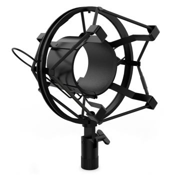 Audibax Araña para Micrófono 46-48 mm, Black