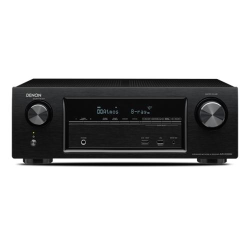 DENON AVR-X1200-AM6V Bk Conjunto Home Cinema