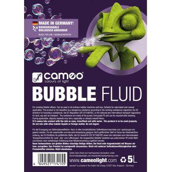 Cameo BUBBLE FLUID 5L Liquido de Pompas