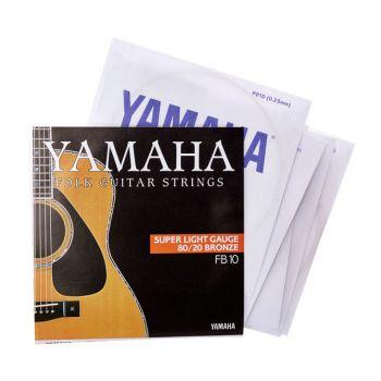 YAMAHA FB10 Cuerdas Guitarra Acustica 0.10-0.47