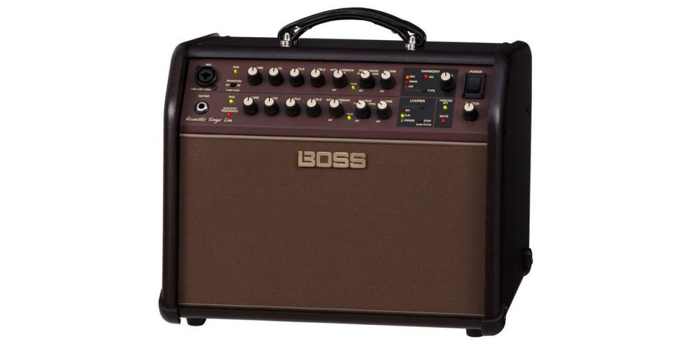 boss acs acoustic singer live
