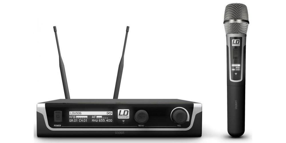 microfono mano inalambrico U506HHC