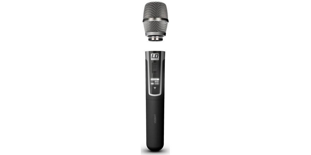 microfono mano inalambrico ldsystems U506HHC
