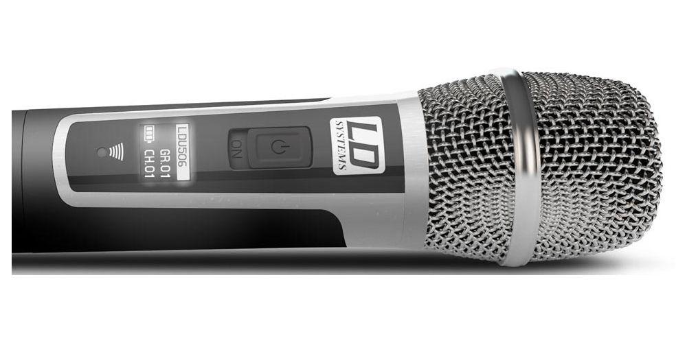 oferta microfono mano inalambrico U506HHC