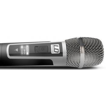 LD SYTEMS U506 HHC Sistema inalámbrico con Micrófono de Mano