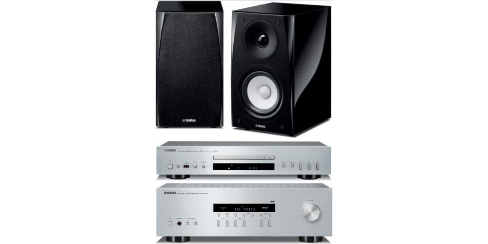 yamaha rs202 silver cds300 silver nsbp182
