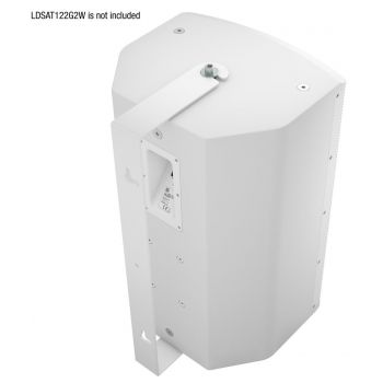 LD Systems SAT 122 G2 WMBW Soporte de Pared Giratorio para SAT 122 G2 Color Blanco