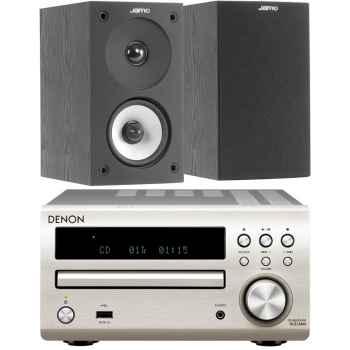 DENON RCDM-40 Silver + Jamo S622 Black