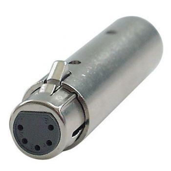 DAP Audio Adaptador XLR 3P Macho / DMX 5P Hembra RF:FLA30
