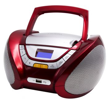 Lauson CP442 Radio CD USB Rojo