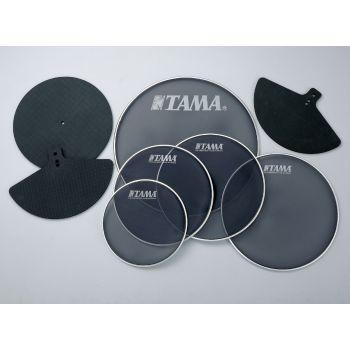 Tama SPP522KC Kit parche malla + sordinas platos para batería