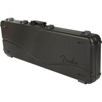 Fender Deluxe Molded Estuche Bajo para Zurdos Negro