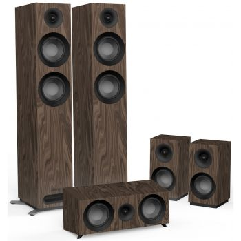 Jamo S807 HCS Walnut Altavoces Home Cinema Conjunto AV 5.0