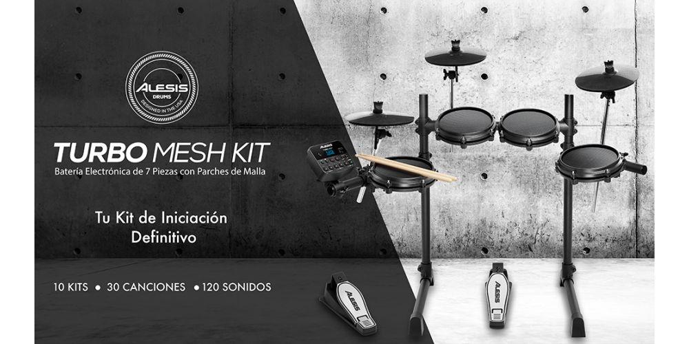 Alesis Turbo Mesh Kit caracteristicas