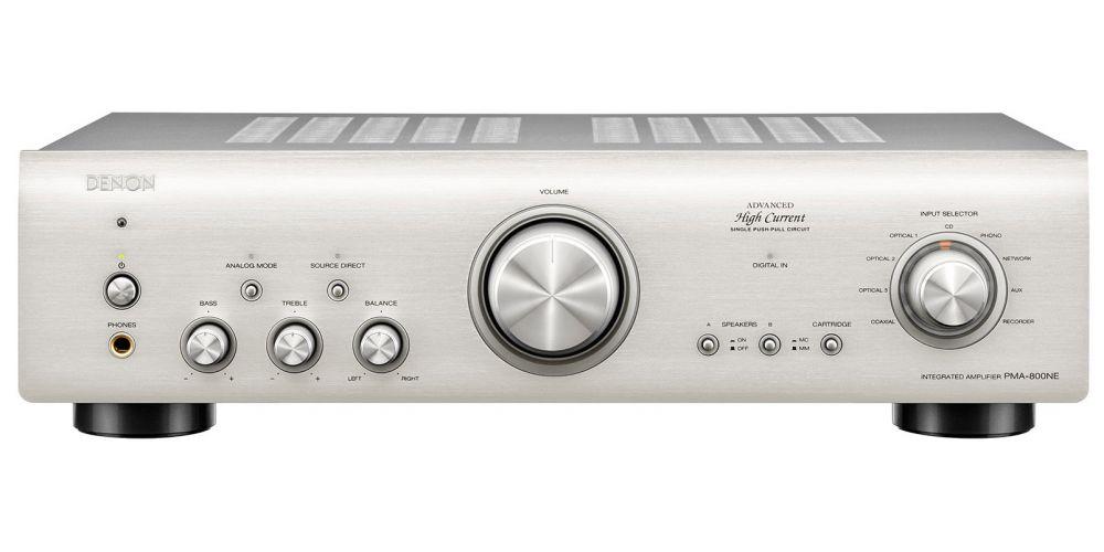 denon PMA800NE amplificador silver