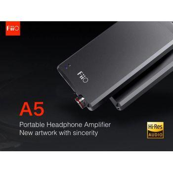 FIIO A5 Black Amplificador Auriculares.
