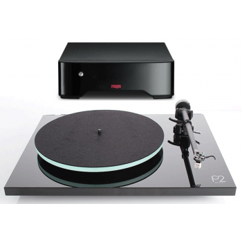 REGA Planar 2 Black+Fono MM Previo Phono