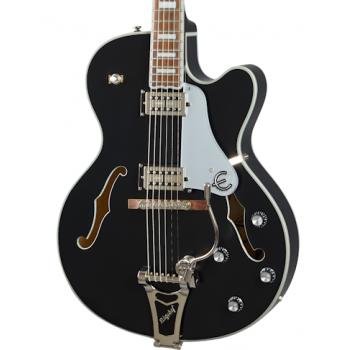 Epiphone Emperor Swingster Black Aged Gloss Guitarra Eléctrica