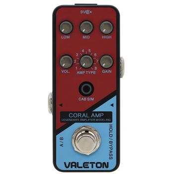 Valeton Coral AMP CRL-5 Pedal de efectos