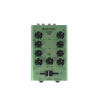 Omnitronic GNOME-202 Green Mini Mezclador Verde