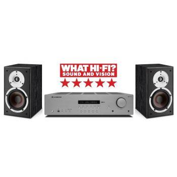 Cambridge Audio AXR100+Spektor2 BK Conjunto Audio
