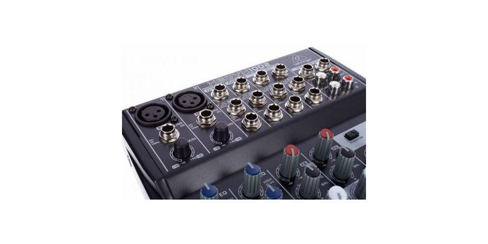 behringer 1002 xenyx mezcladora directo