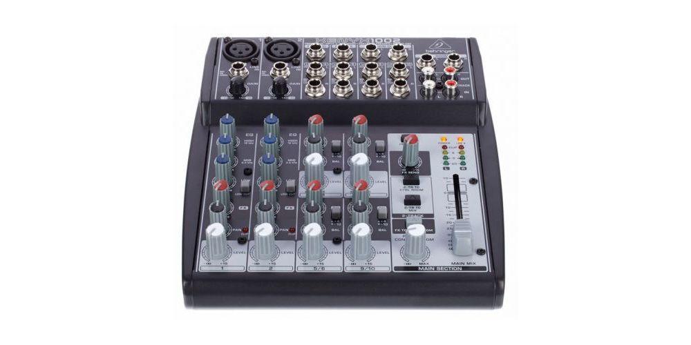 behringer 1002 xenyx mezcladora front