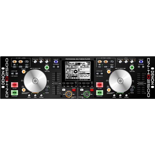 DENON DN-HD2500 Reproductor Mp3/Wav Disco Duro DNHD2500