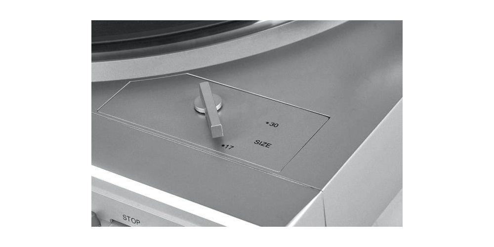 denon dp29 detalle diametro disco