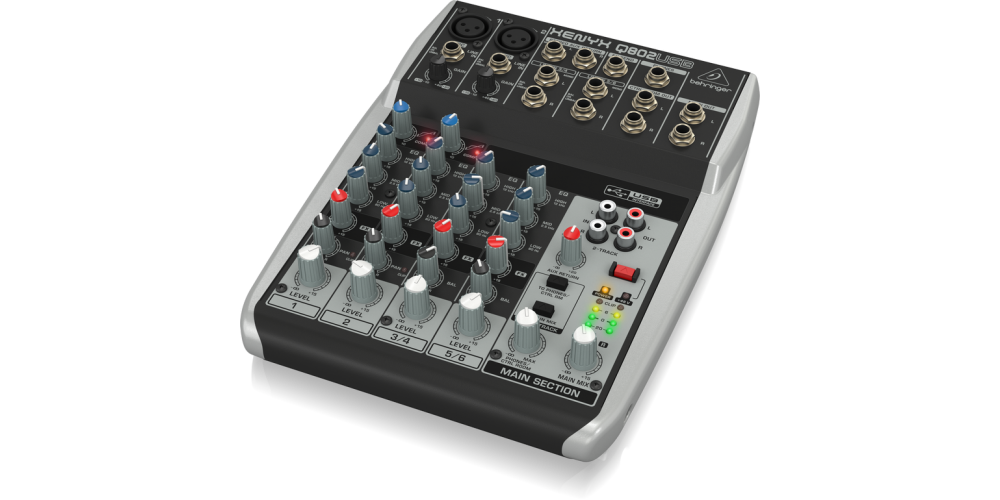 behringer Q802USB mezclador