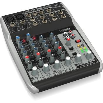 BEHRINGER Q802USB XENYX Mezclador para Directo Q-802 USB
