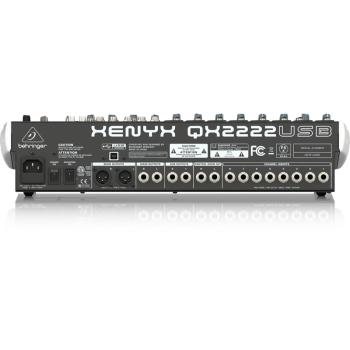 BEHRINGER QX2222USB XENYX Mezclador USB 22 Canales