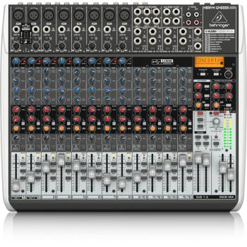 BEHRINGER QX2222USB XENYX Mezclador para Directo QX-2222 USB
