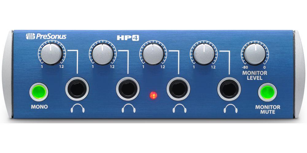 presonus hp4 interface