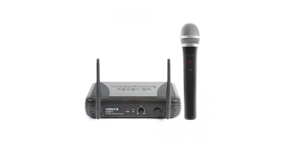 vonyx 179185 stwm711 microfono vhf 1