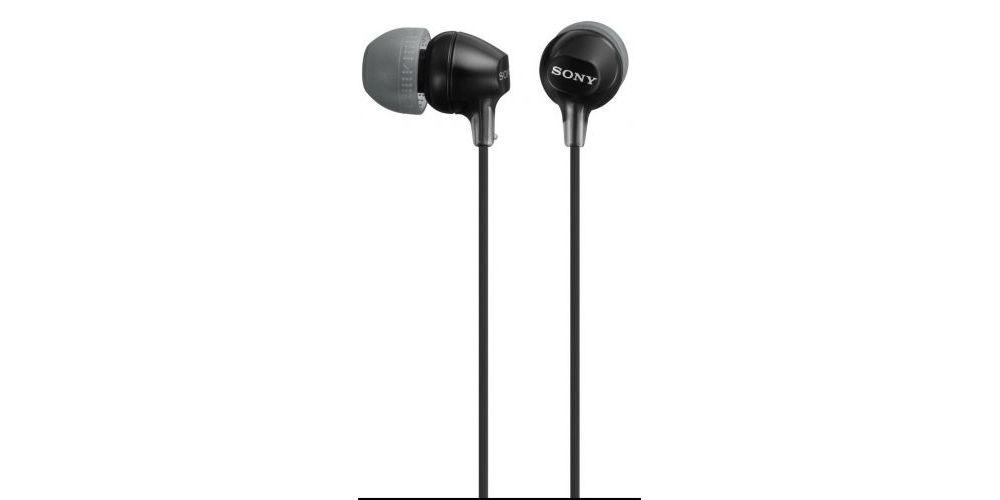 SONY MDR-EX15LPB Auricular Intraural Negro