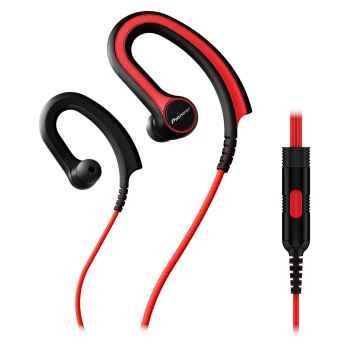 PIONEER SE-E711T-R Auricular Clip SPORT Rojo