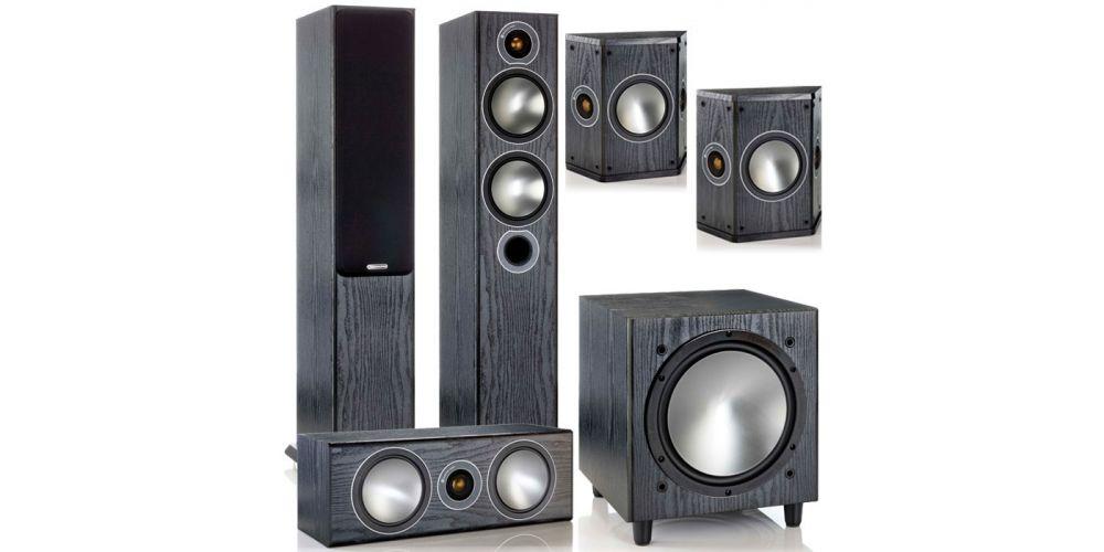monitor audio Bronze Cinema 5 av power bk