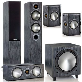 MONITOR AUDIO Kit  BRONZE 5 AV POWER, BRONZE B5 + BRONZECENTER + BRONZE FX+ BRONZE W10