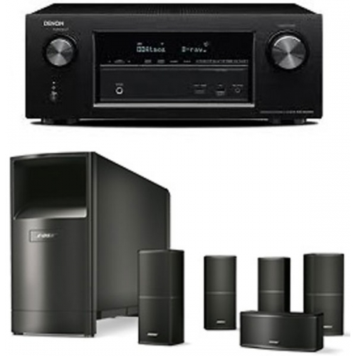 DENON AVR-X2200-AM10V BK Receptor Home Cinema